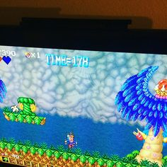 Shared by johnblueriggs #neogeo #microhobbit (o) http://ift.tt/2bs9d0W's Journey on tap tonight. Virtual Console on Wii as I don't have a Neo Geo.