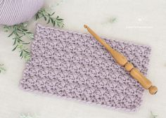 How To Crochet The Modified Sedge Stitch - Easy Tutorial by Hopeful Honey