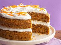 Yum... I'd Pinch That! | Carrot Cake with Fluffy Cream Cheese Frosting