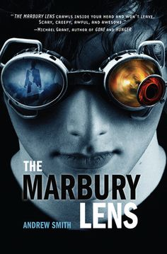 Watch this book trailer video for The Marbury Lens, a young adult novel by Andrew Smith. The Marbury lens is a suspense thriller and fantasy novel that begin. Books For Boys, Ya Books, Good Books, Ragnor Fell, Andrew Smith, Books You Should Read, Book Trailers, The Book, Audio Books
