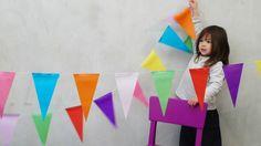 Weiteres - Party Flags - ein Designerstück von letterpress77 bei DaWanda