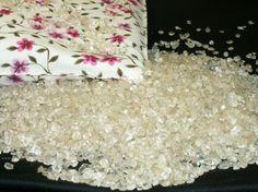 Kříštálový polštář s drahými kameny