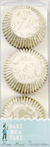 Meri Meri Mini Wedding Cupcake Cups Liners