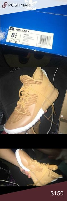 Adidas tubular X Brand new (worn once) size: 81/2 men's Adidas Shoes Sneakers