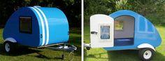 The Bed Bug - Retro Teardrop Micro Caravan