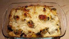 Brokkolis görög joghurtos csirkemell Cauliflower, Mashed Potatoes, Ale, Vegetables, Ethnic Recipes, Food, Whipped Potatoes, Cauliflowers, Smash Potatoes