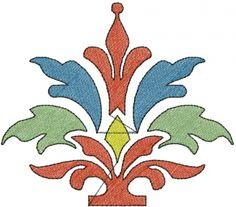 Free Stencil Flower Embroidery Design | AnnTheGran