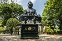 Tokyo Daibutsu - big and beautiful - you don't need to go all the way to Kamakura