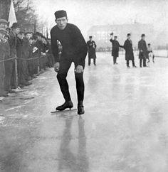 ice skate in oslo 1911