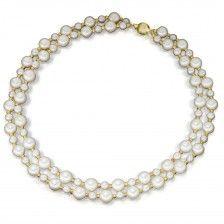 """Elegantes Perlen-Collier """"Jackie K."""", Perlen"""