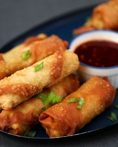 Crispy Pork Spring Rolls With Spicy Vanilla Chilli Dip Inspired by Pepsi Max Vanilla