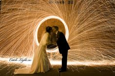 Light painting. #wedding #photography