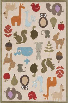 Bellissimo Multicolore Bambini Tappeti KD-978150 X 240 CM ( 5'x8′ )   Arts of India – Italy