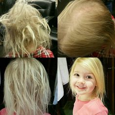 Check out these amazing results using Monat kids line, four washes so far! #notears The first picture is how her hair looked every morning when she woke up before using the Monat products. I am happy to help anyone buy the products if you do not already have a Market Partner consultant
