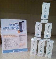 NERIUM gives us (brand Partners) FREE INVENTORY!!!!  I have earned about 50 bottles of NERIUM for FREE!!