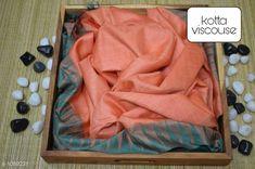 Sarees Contemporary Kota Viscose Silk Printed Saree  *Fabric* Saree - viscose silk, Blouse - viscose silk  *Size* Saree - 5.50 Mtr, Blouse - 1.00 Mtr  *Work* Printed  *Sizes Available* Free Size *   Catalog Rating: ★4.1 (250)  Catalog Name: Attractive Pretty Kota Viscose Silk Printed Sarees CatalogID_133607 C74-SC1004 Code: 195-1089231-