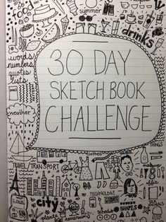 30 Day Sketch Book Challenge: Completed — The Note Passer