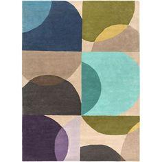 Scion Multicolor Rectangular: 8 Ft x 11 Ft Rug - (In Rectangular)
