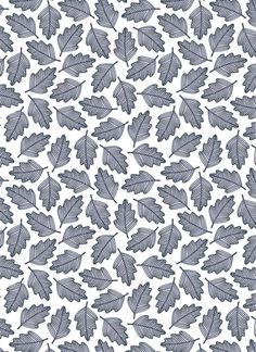 Oak leaf pattern | Helena Leslie