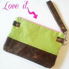 Artsy Anthropology Handmade Wristlet   via @Krista McNamara Knight and HighHeels #accessories #fashion #style Find out how to get yours!!