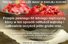 Lek masz w swojej kuchni-oczyszcza jelito grube, usuwa tłuszcz z wątroby.. Raspberry, Healthy Eating, Beef, Fruit, Food, Natural Remedies, Eating Healthy, Meat, Healthy Nutrition