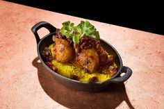 Poussin with Rice at Bar Bolonat - Best Bites of the Year     Bloomberg