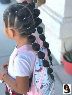 Hairstyles for School 17 Fun & Easy Back-to-School Hairstyles for Girls . - Hairstyles for School 17 Fun & Easy Back-to-School Hairstyles for Girls … – - Cute Toddler Hairstyles, Easy Little Girl Hairstyles, Cute Hairstyles For Kids, Girls Natural Hairstyles, Kids Braided Hairstyles, Hairstyles For School, Anime Hairstyles, Stylish Hairstyles, Hairstyles Videos