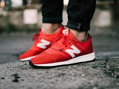 1eb98c71d5a32 New Balance 247 Classic Pack Trainers Mens red  NewBalance  RunningShoes