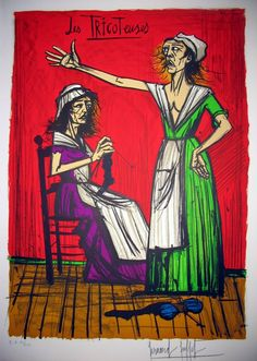Bernard Buffet - The Knitters
