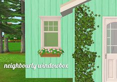 neighbourly windowbox - shiftableThis is an edit I made of the sims 4 windowbox, its significantly smaller and I've recolored the flowers in some nice pretty colors. It has two subsets so you can mix...