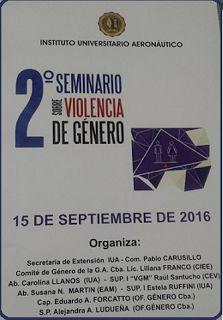 OFICINA DE GENERO Córdoba: Jornada Seminario Violencia de Género