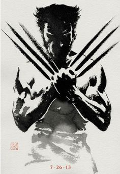 Great New Poster for The Wolverine | News | ScreenGeek - Cult TV & Film News, Reviews, Interviews and Trailers