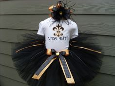 Custom TutusWHO DATnew orleans saints inspired by fairyfashions, $65.00