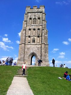 Glastonbury Tor  Long assed hike up a hill I thought would never end.  Totally worth it!