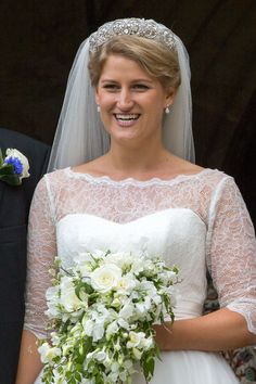 Princess Diana's Wedding Tiara Was Just Worn by Her Niece, and She Looked Stunning- HarpersBAZAAR.com