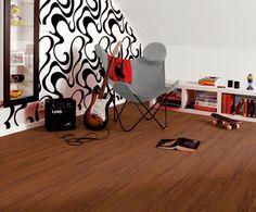 "Lame PVC clipsable imitation parquet en teck | Tarkett Starfloor Click 30 ""Teak Natural"" - BRICOFLOR"