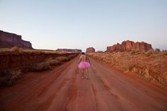 bob carey , The Tutu Project. Bob Carey photographed himself in a pink tutu many places in support of his wife who has cancer. Tutu Rose, Pink Tutu, Pink Dress, Desert Road, Modern Metropolis, Breast Cancer Awareness, Monument Valley, Ballerina, Raise Funds