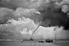 Mitch Dobrowner won the 2012 Sony's World Photographer of the Year award with his stunning Storms series