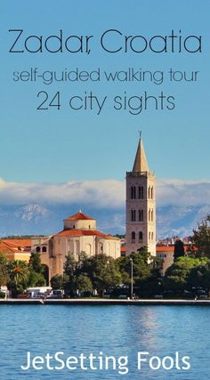 While there are some comparisons that can be made between Rovinj and Zadar, the two cities are drastically different. Even though Zadar may not be dripping with charm like Rovinj, it certainly has it. And, something it has that Rovinj doesn't is a slew of sights – from Roman ruins to historic churches to a modern seaside promenade complete with new age art.
