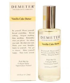 Demeter Vanilla Cake Batter By Demeter For Women. Pick-me Up Cologne Spray 4.0-Ounces by Demeter, http://www.amazon.com/dp/B001CT064S/ref=cm_sw_r_pi_dp_v3kQrb07RFFDC