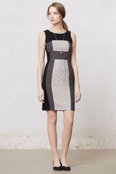 NEW Anthropologie Black Polka Dot Career Cocktail Sheath Dress By Maeve, Size 12 #Anthropologie #SheathWigglePencilSheathDress #PartyCocktailWorkCasual