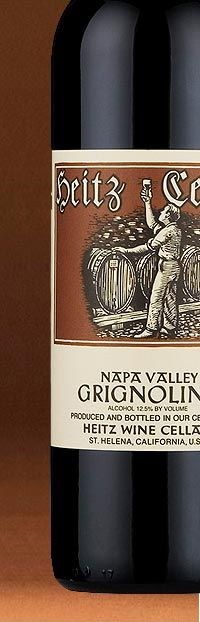 Heitz Cellar Grignolino - Less than 50 acres grown in California - Heitz is best known grower and producer of Grignolino - in both red and rose styles.