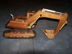 Construction Series/Excavator - by hunter71 @ LumberJocks.com ~ woodworking community