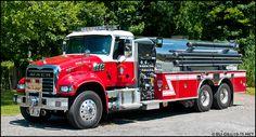 Trucking Fire Fighters, Mack Trucks, Fire Apparatus, Emergency Vehicles, Firefighting, Fire Dept, Fire Engine, Custom Trucks, Fire Trucks
