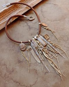 Dawn Wilson-Enoch / Desert Talismans - Desert Primitive Summer Solstice Talisman necklace