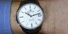 El Geophysic True Second es la nueva reinterpretación del famoso reloj de Jaeger-LeCoultre aparecido en 1958, ahora con segundos muertos y nueva esfera