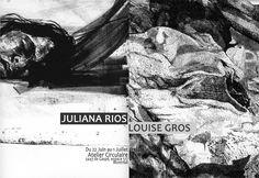 Juliana Rios et Louise Gros ? la Galerie des Membres