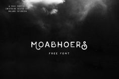 Moabhoers free font is a beautiful unique display font for any kind of purposes. This is the free version from Moabhoers typeface which contains complete set of characters to play with. 100 Free Fonts, Free Fonts Download, Font Free, Great Fonts, Cool Fonts, Funky Fonts, Cursive, Typography Love, Lettering