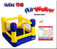 Yet another Air Walker bounce house giveaway. Ends 7/11
