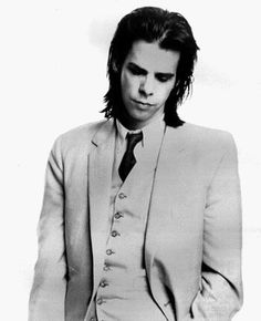 Nick Cave; the Cohen-esque vampire